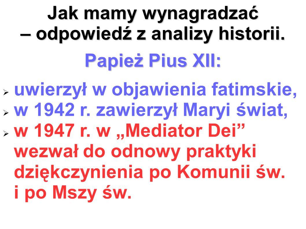 – odpowiedź z analizy historii.
