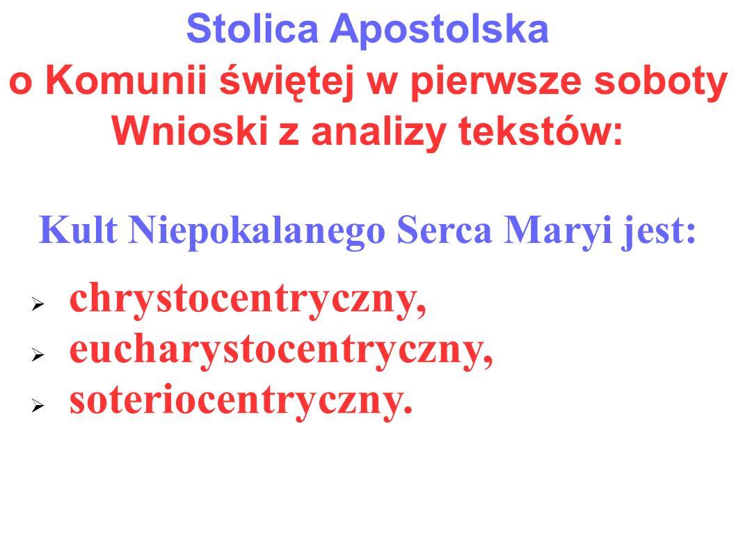 eucharystocentryczny, soteriocentryczny.