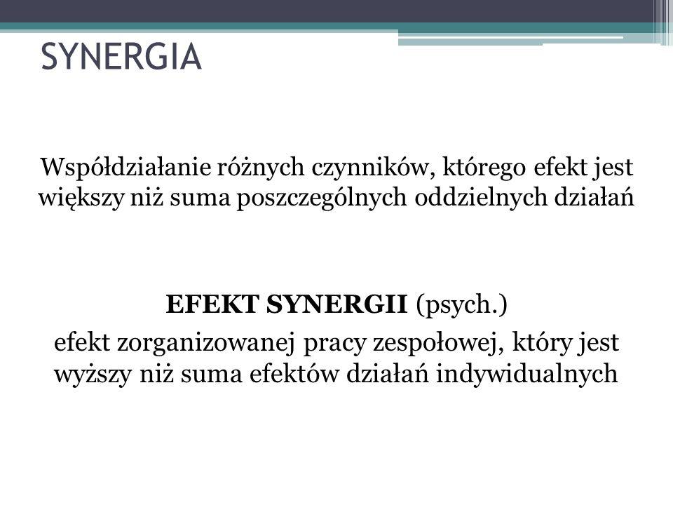 EFEKT SYNERGII (psych.)