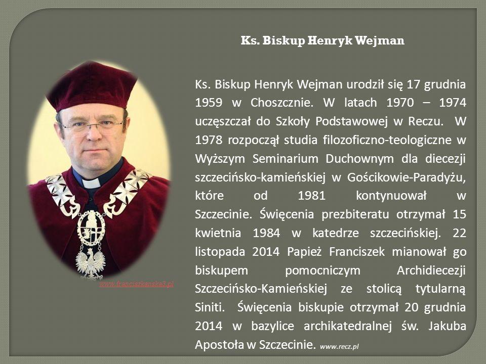 Ks. Biskup Henryk Wejman