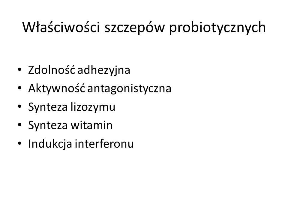 Właściwości szczepów probiotycznych