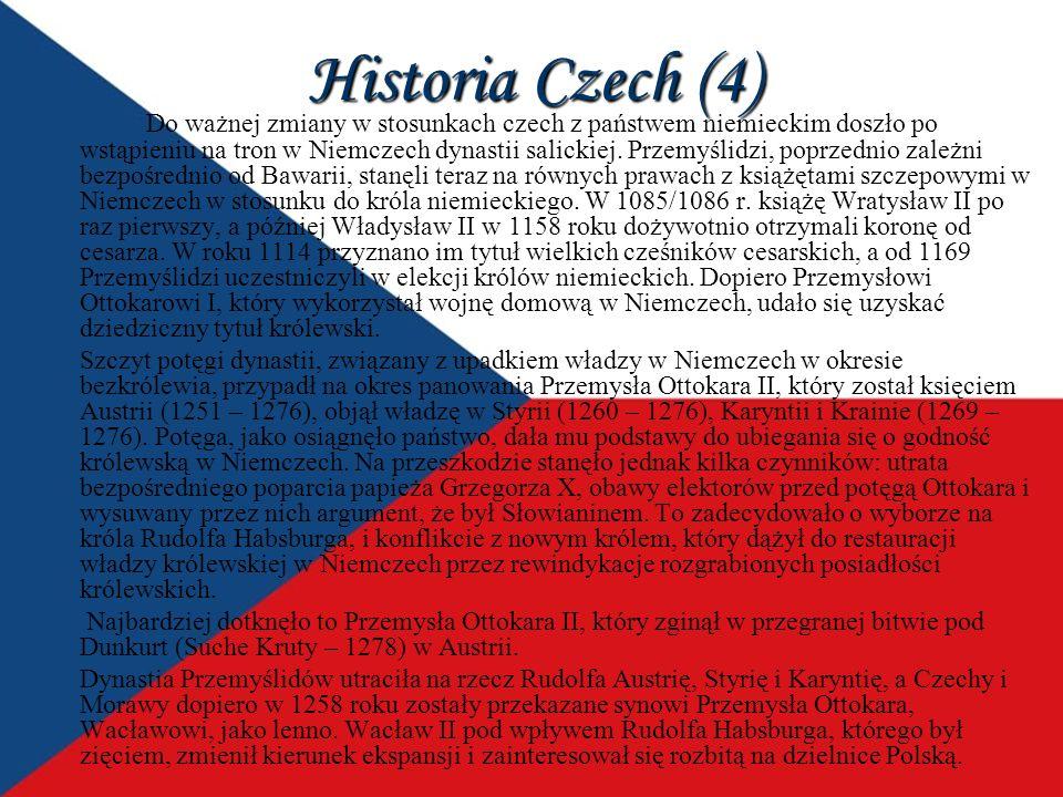 Historia Czech (4)