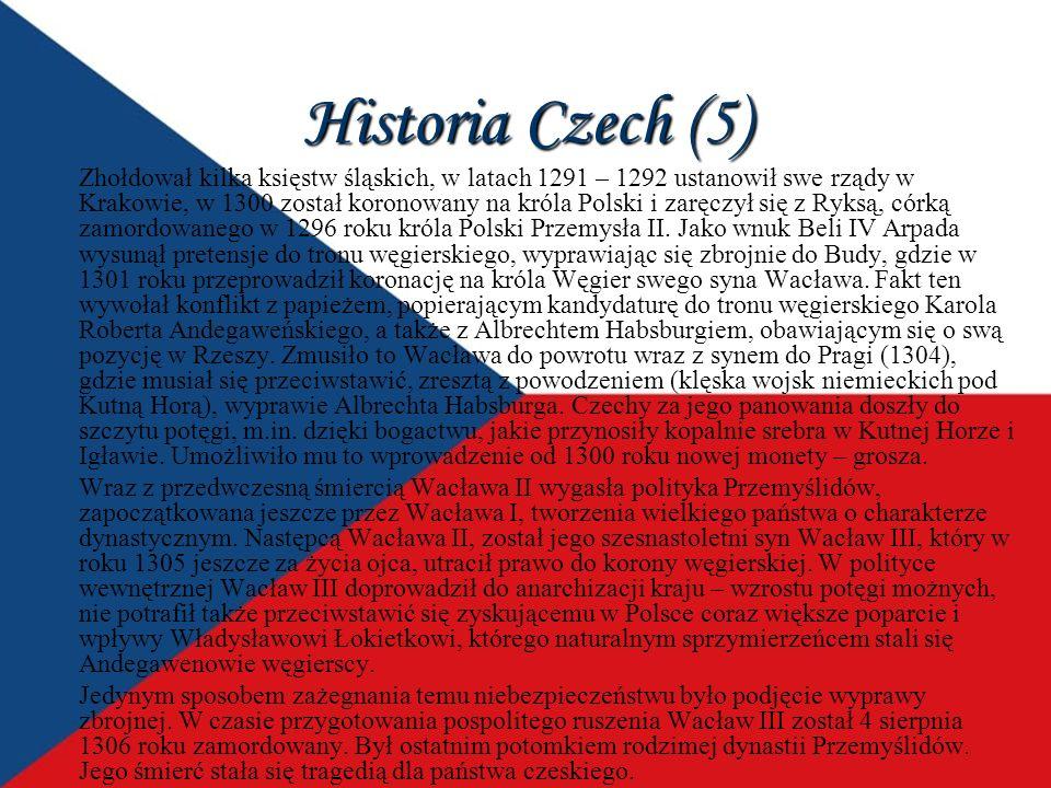 Historia Czech (5)