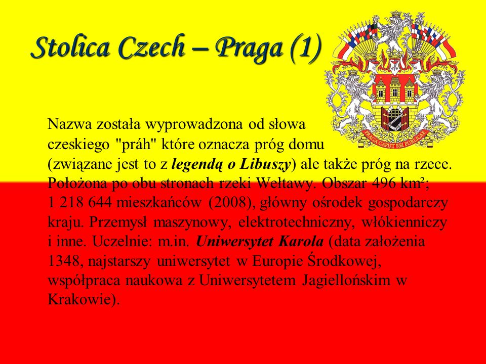 Stolica Czech – Praga (1)