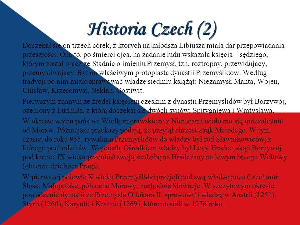 Historia Czech (2)