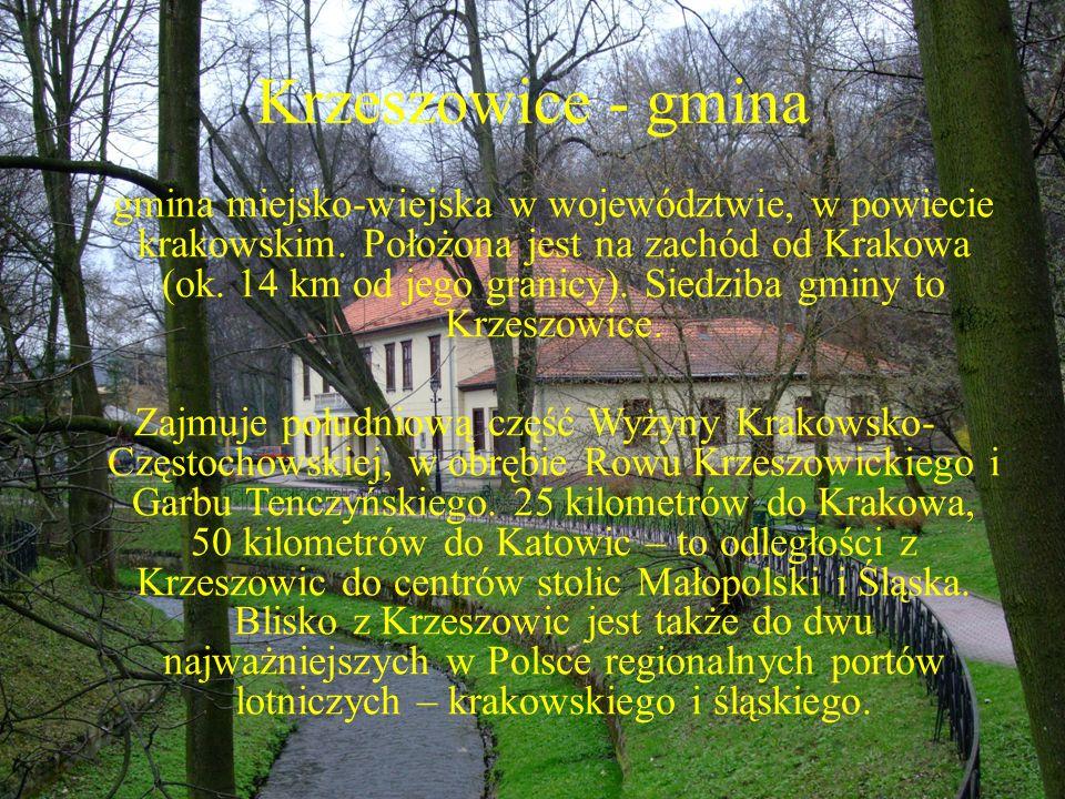 Krzeszowice - gmina