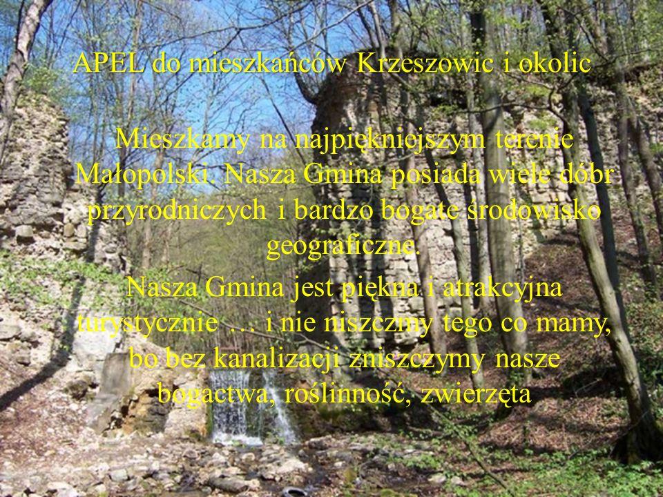 APEL do mieszkańców Krzeszowic i okolic