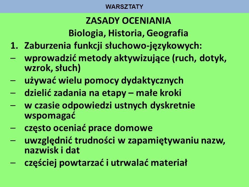 Biologia, Historia, Geografia