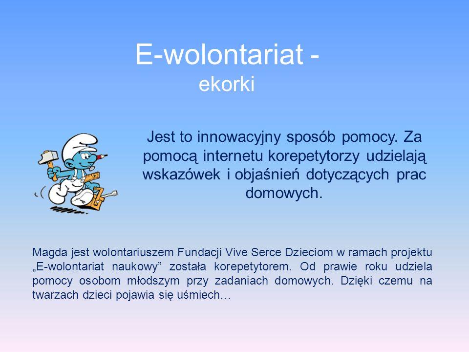 E-wolontariat - ekorki