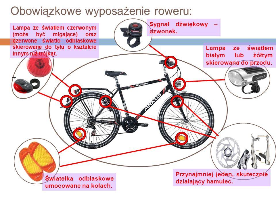 Obowiązkowe wyposażenie roweru: