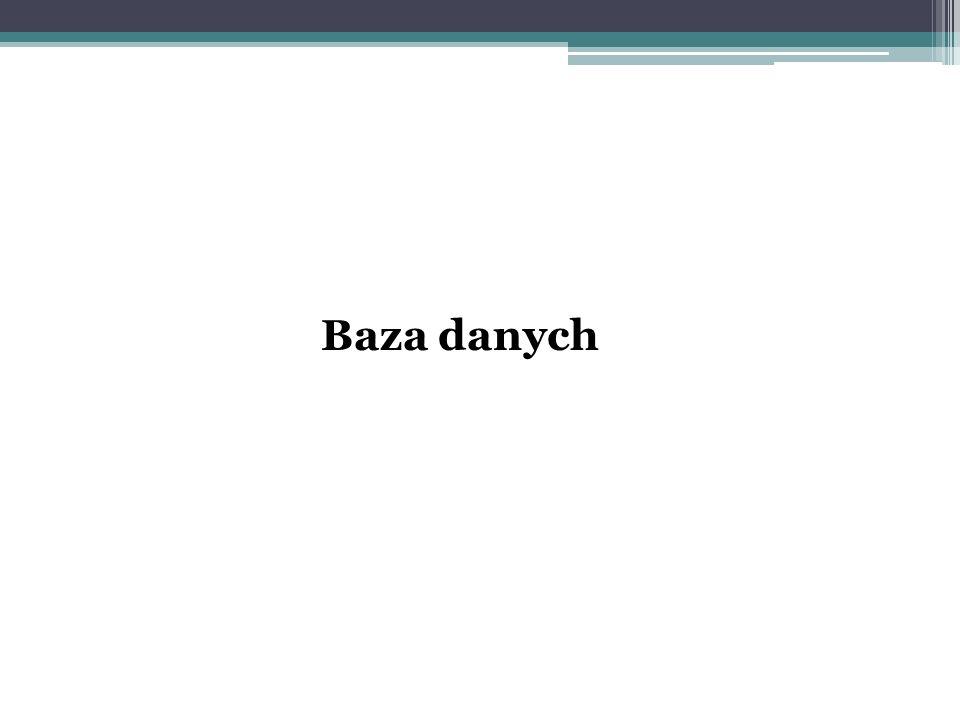 Baza danych
