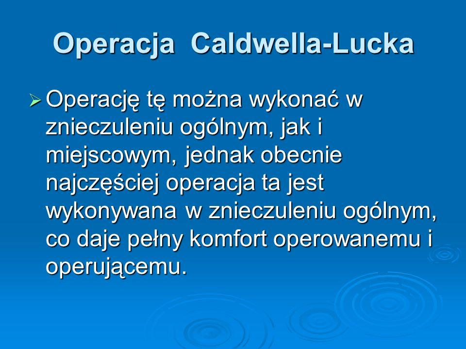 Operacja Caldwella-Lucka