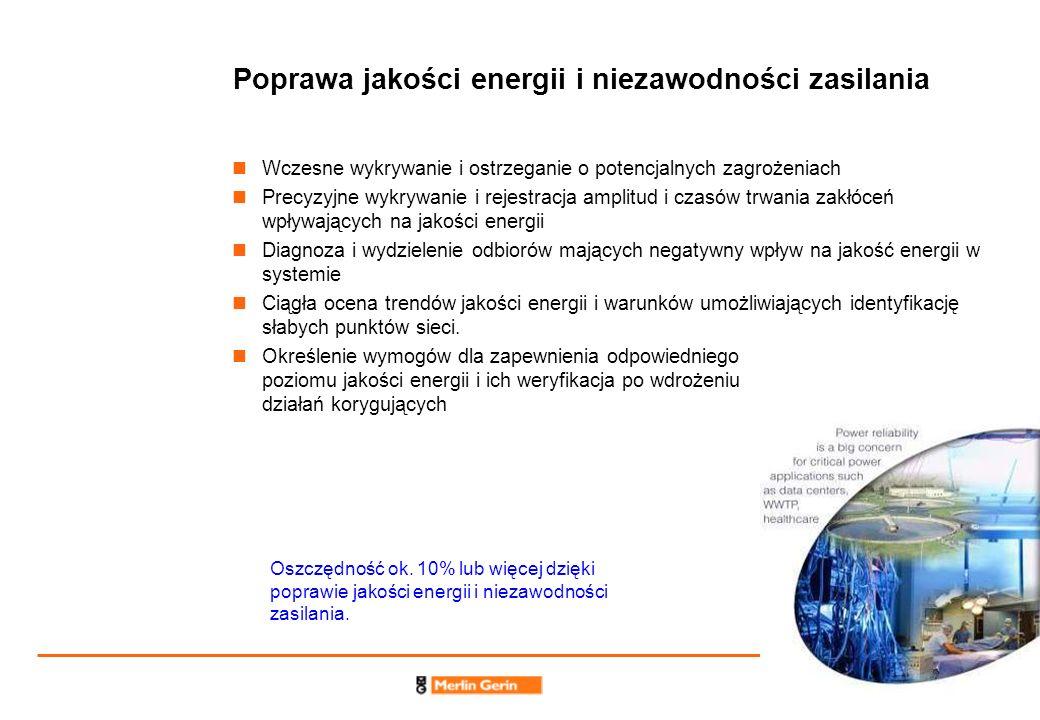 Poprawa jakości energii i niezawodności zasilania