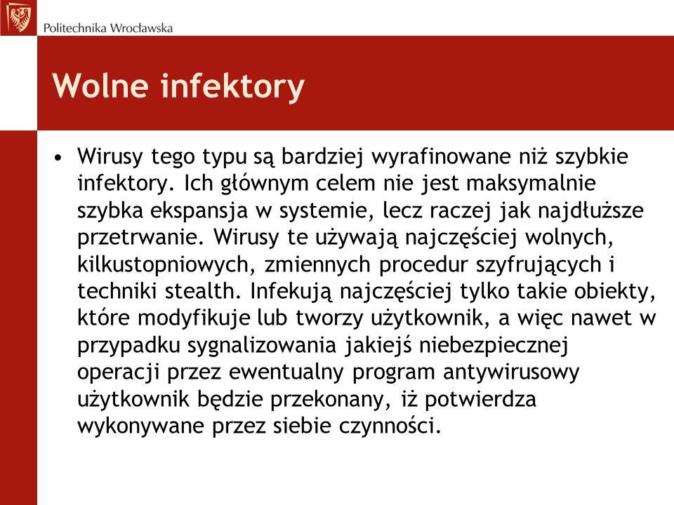 Wolne infektory