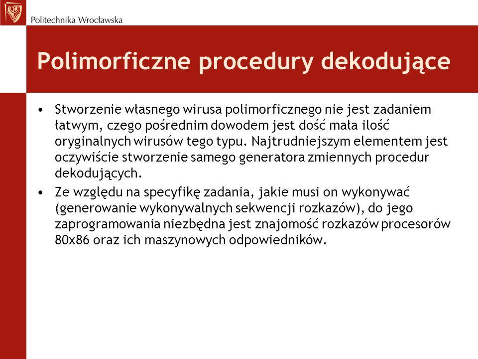 Polimorficzne procedury dekodujące