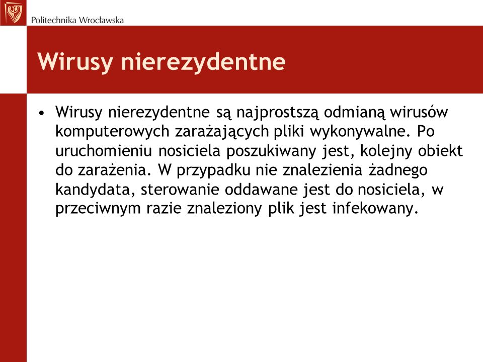 Wirusy nierezydentne