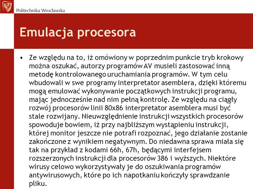 Emulacja procesora