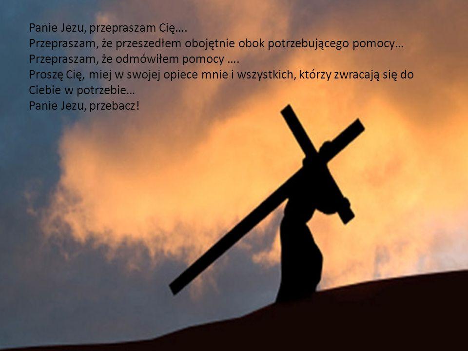 Panie Jezu, przepraszam Cię….