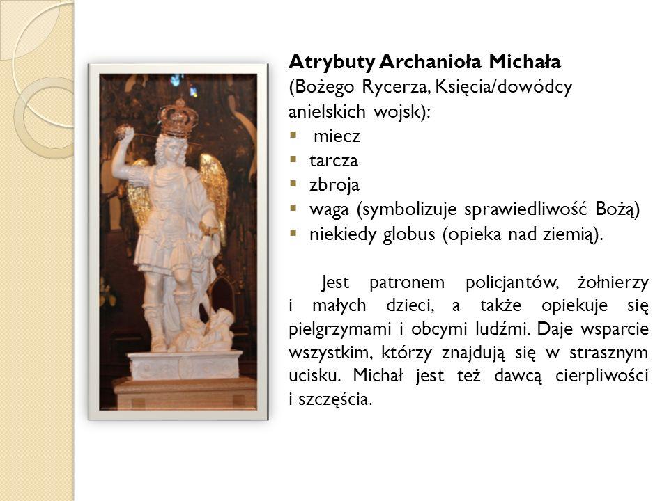 Atrybuty Archanioła Michała