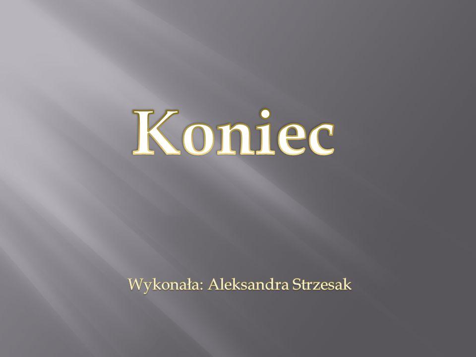 Wykonała: Aleksandra Strzesak