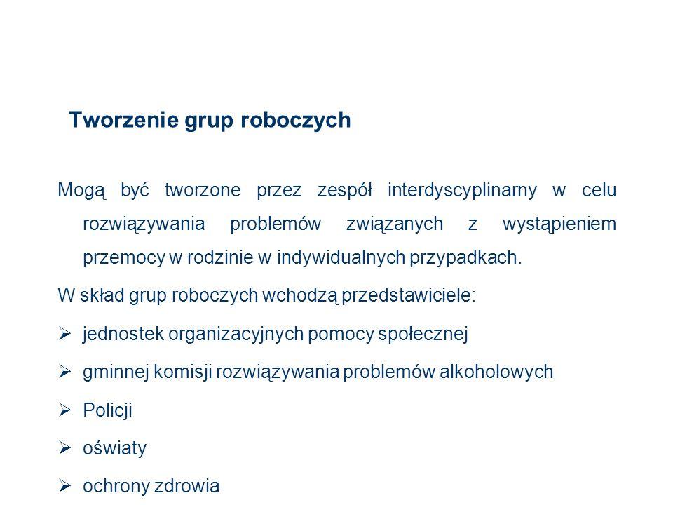 Tworzenie grup roboczych