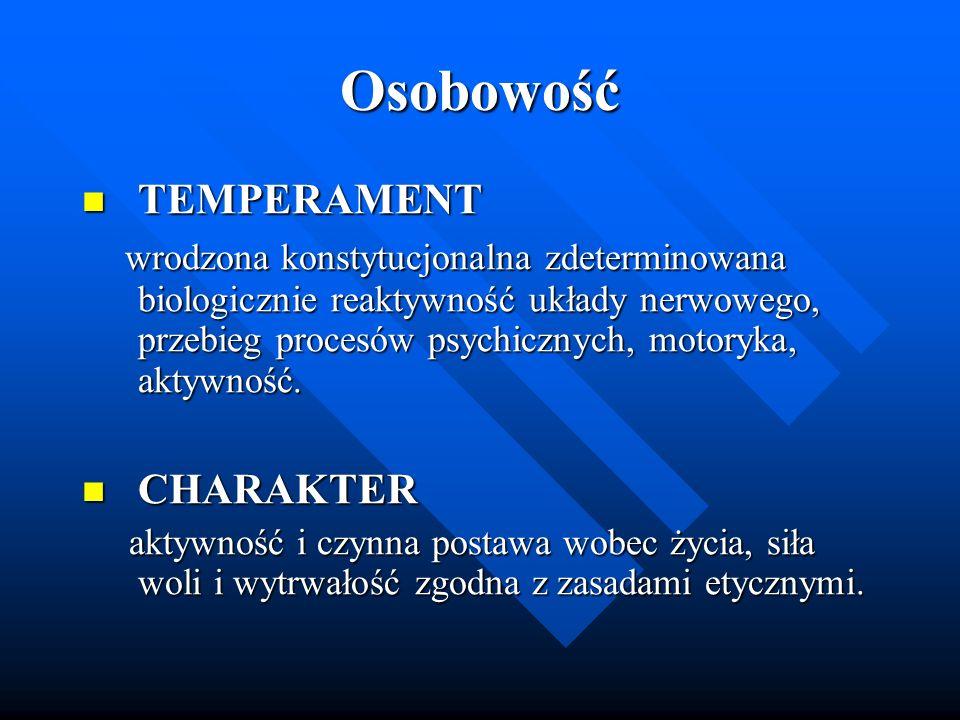 Osobowość TEMPERAMENT