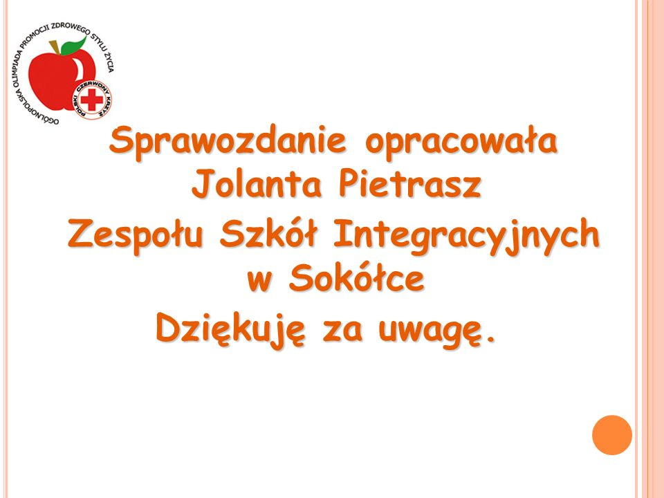 Zespołu Szkół Integracyjnych w Sokółce