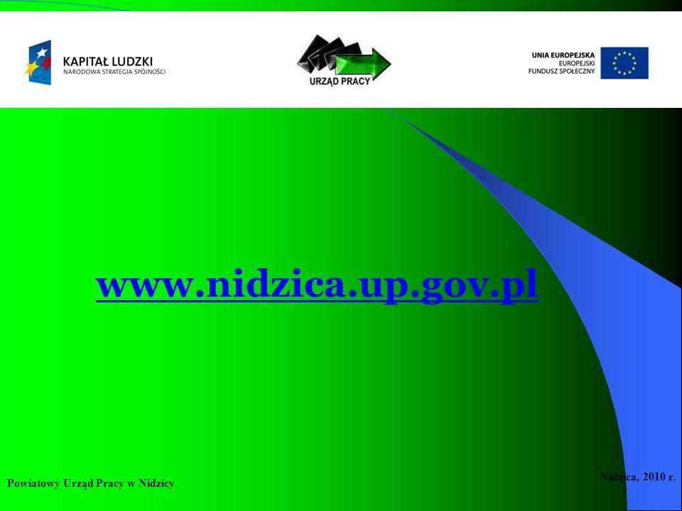 Powiatowy Urząd Pracy w Nidzicy