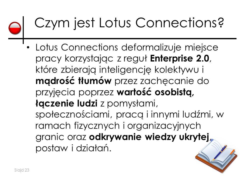 Czym jest Lotus Connections