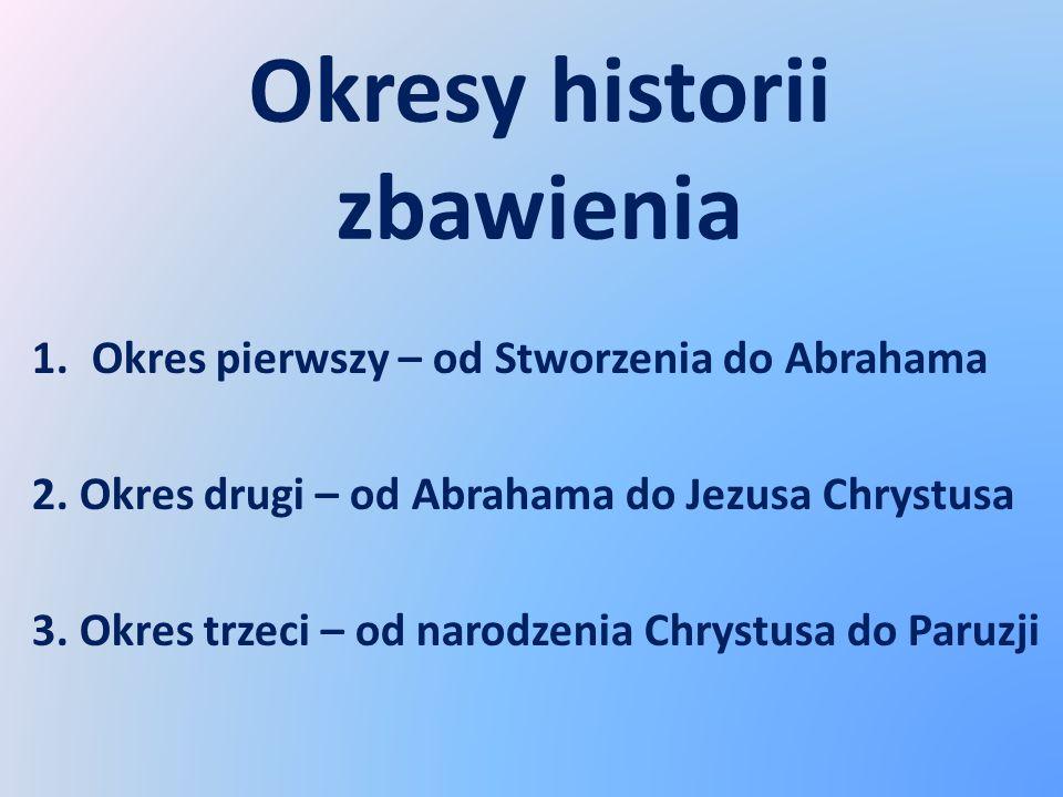 Okresy historii zbawienia