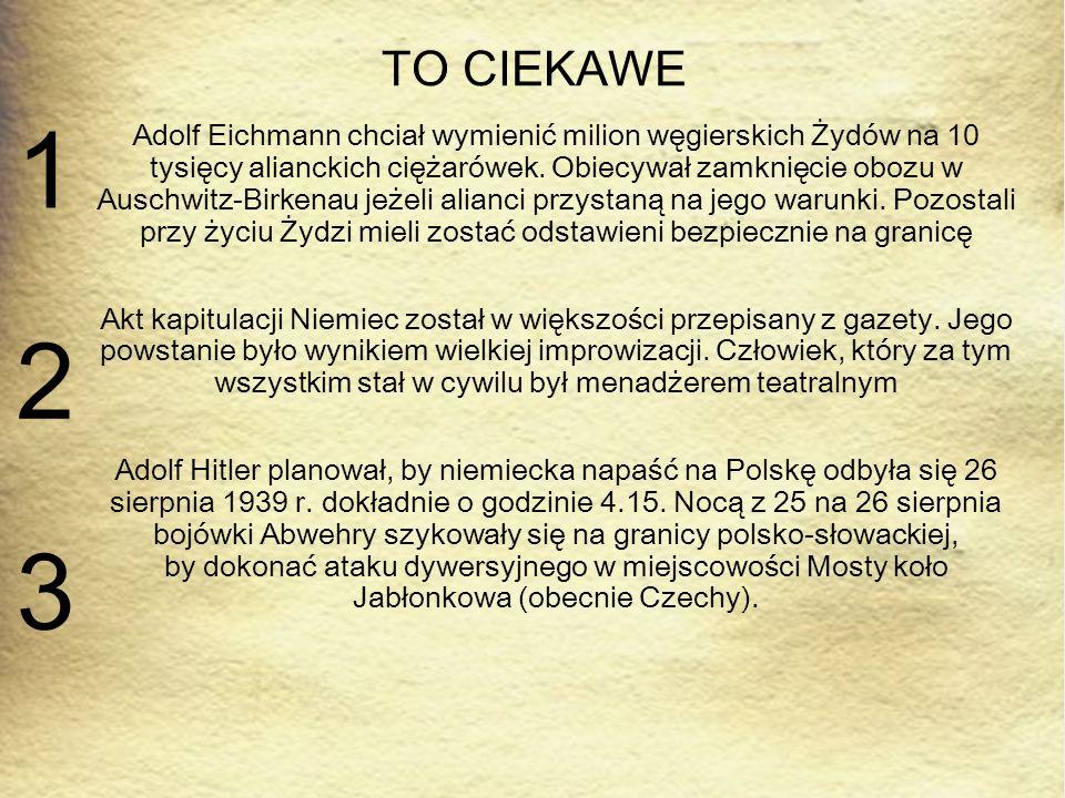 TO CIEKAWE 1.