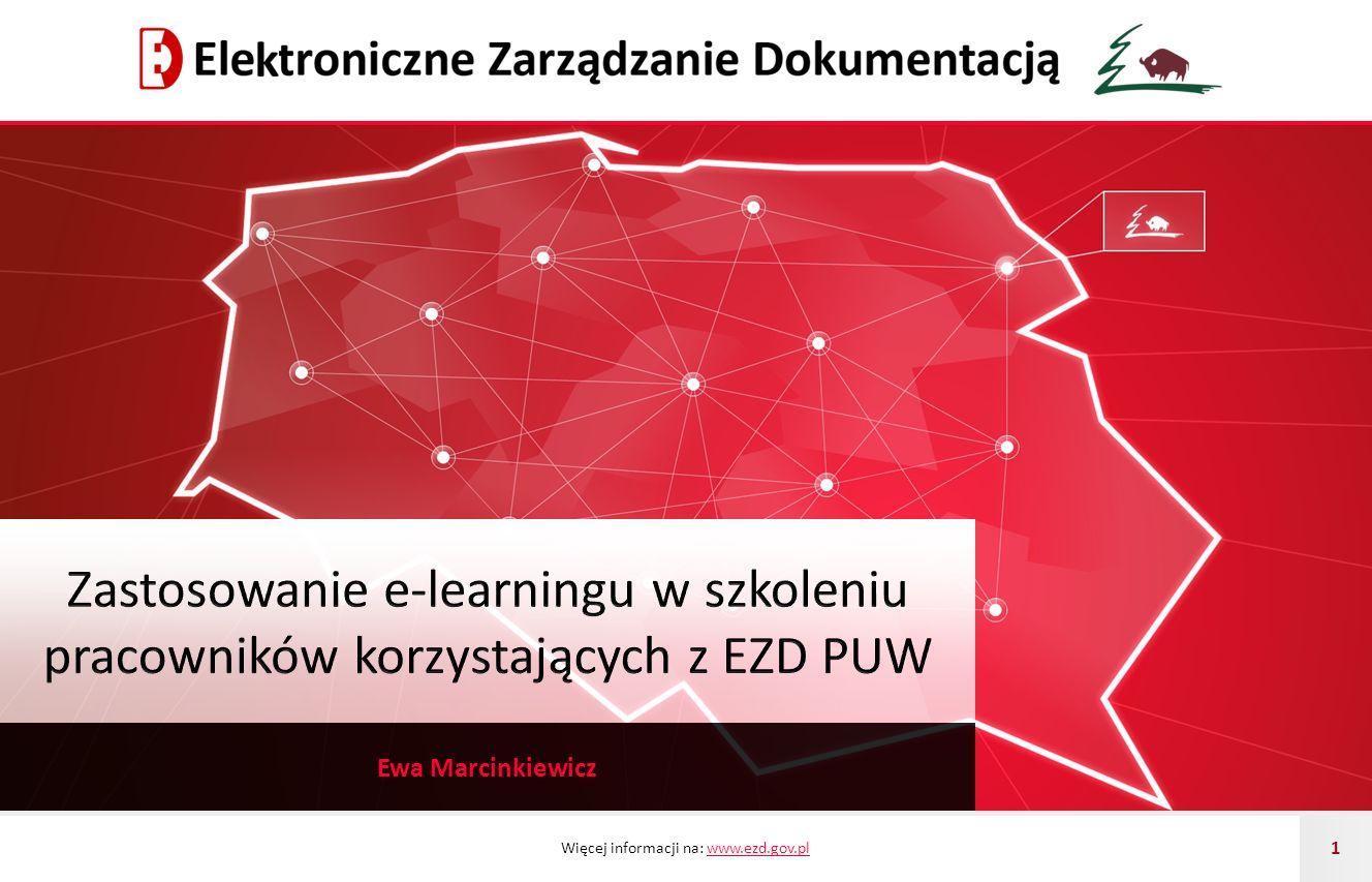 Zastosowanie e-learningu w szkoleniu pracowników korzystających z EZD PUW
