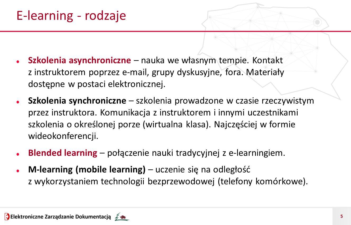 E-learning - rodzaje