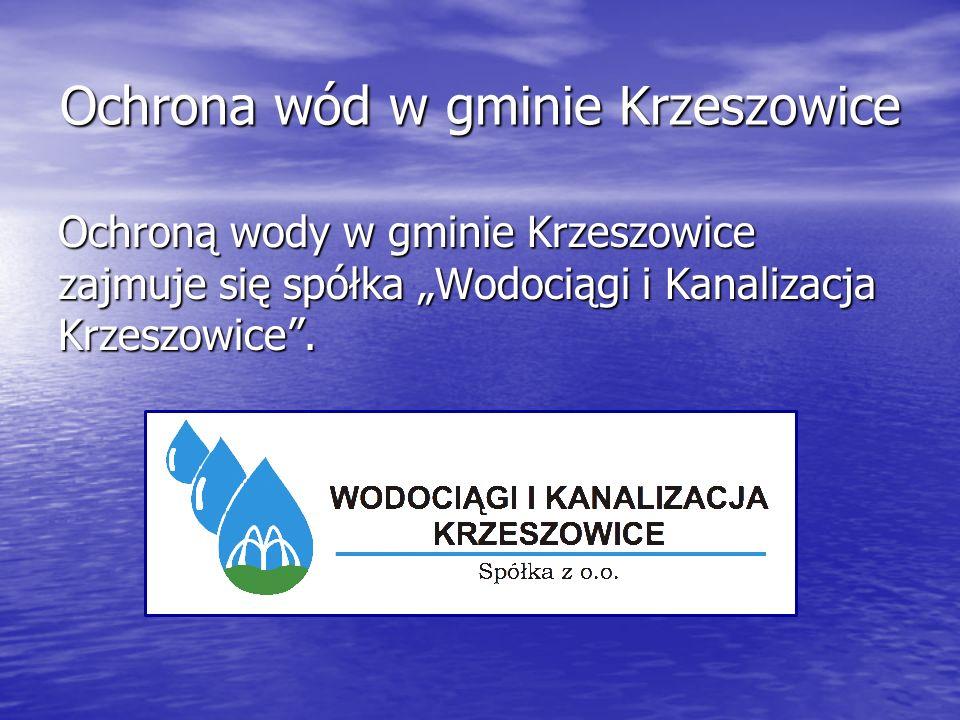 Ochrona wód w gminie Krzeszowice