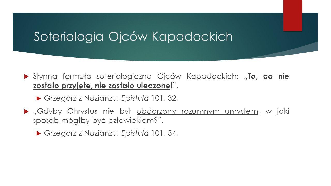 Soteriologia Ojców Kapadockich