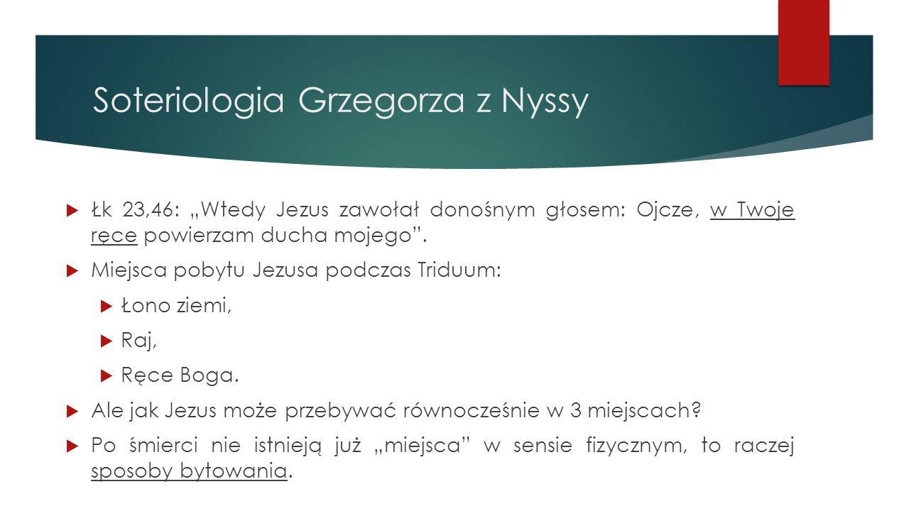 Soteriologia Grzegorza z Nyssy