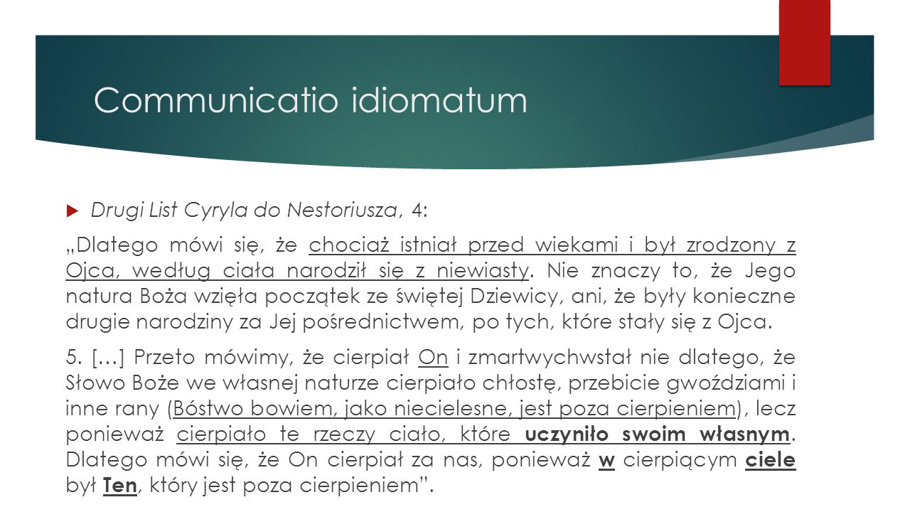 Communicatio idiomatum