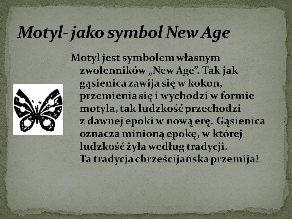 Motyl- jako symbol New Age