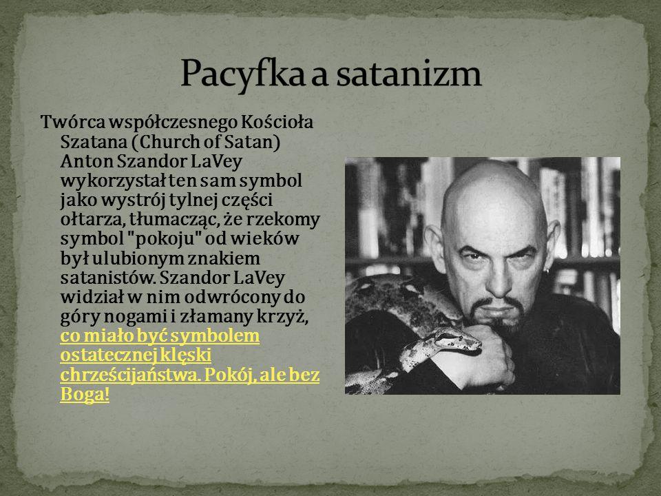 Pacyfka a satanizm
