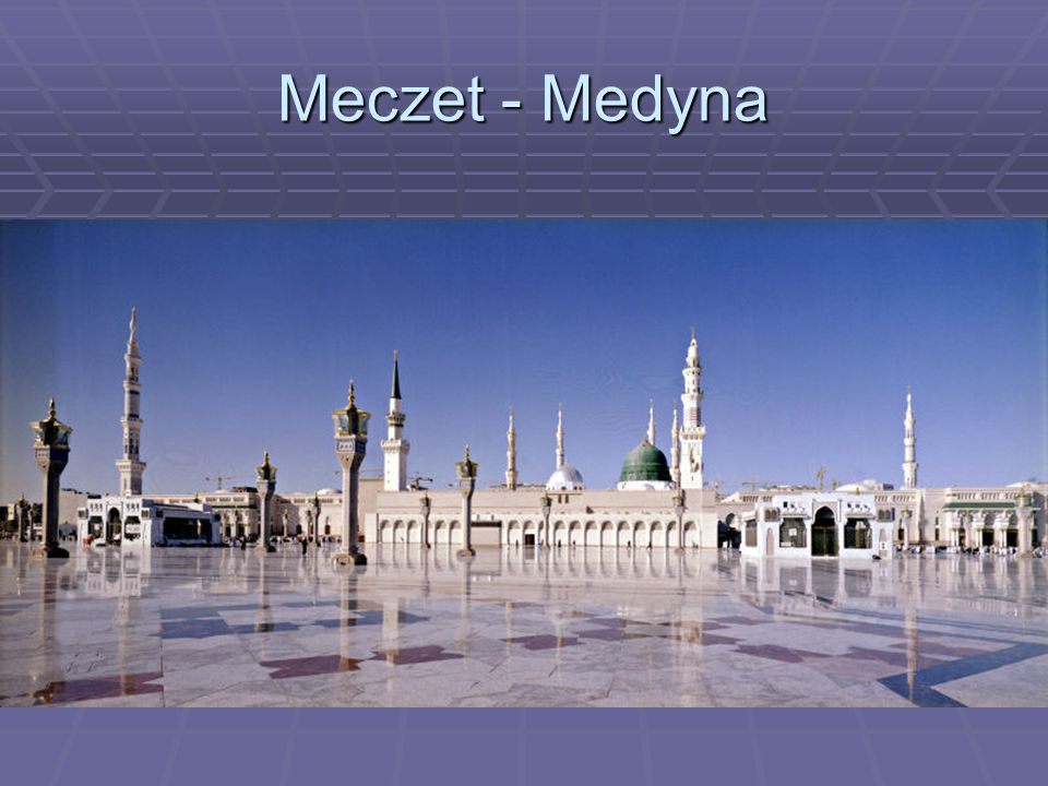Meczet - Medyna