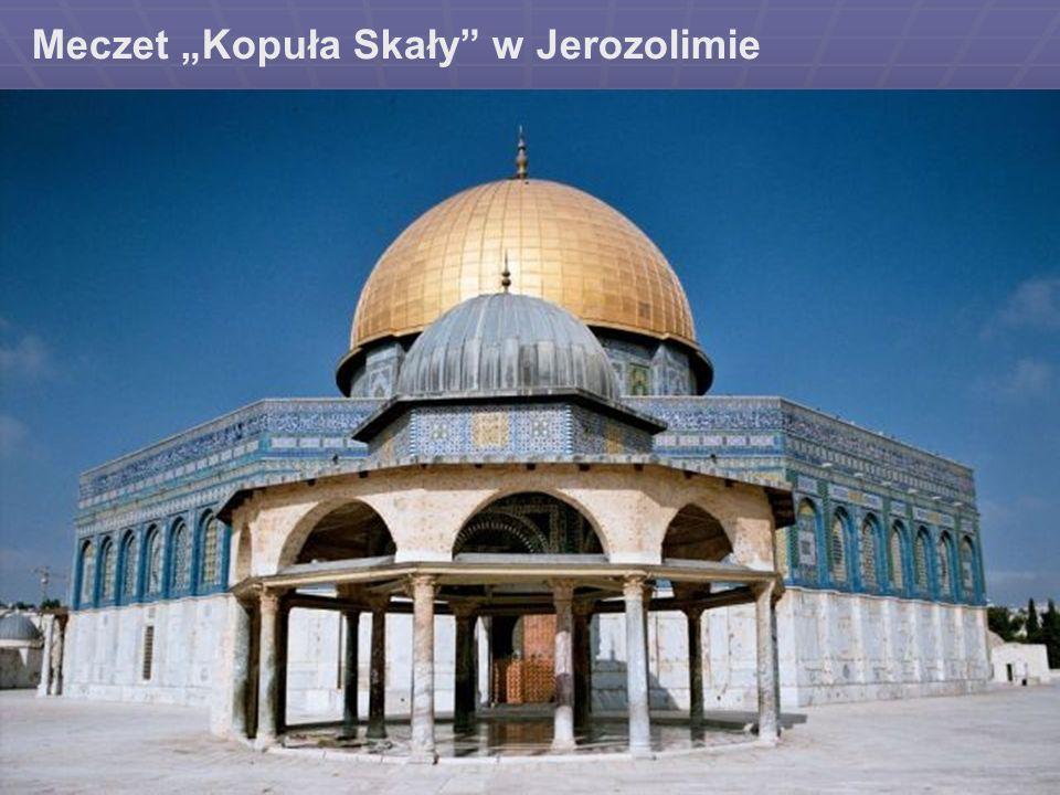 """Meczet """"Kopuła Skały w Jerozolimie"""