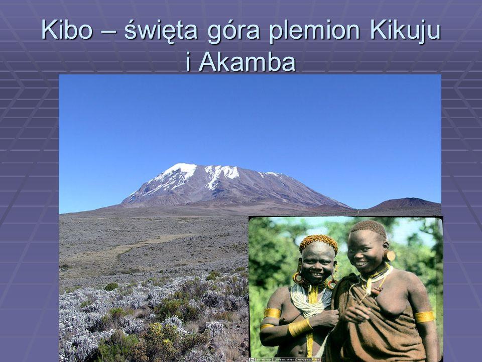 Kibo – święta góra plemion Kikuju i Akamba