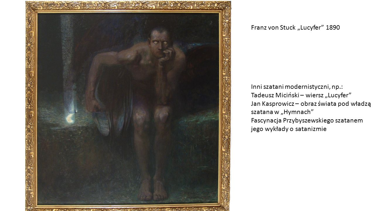 """Franz von Stuck """"Lucyfer 1890"""