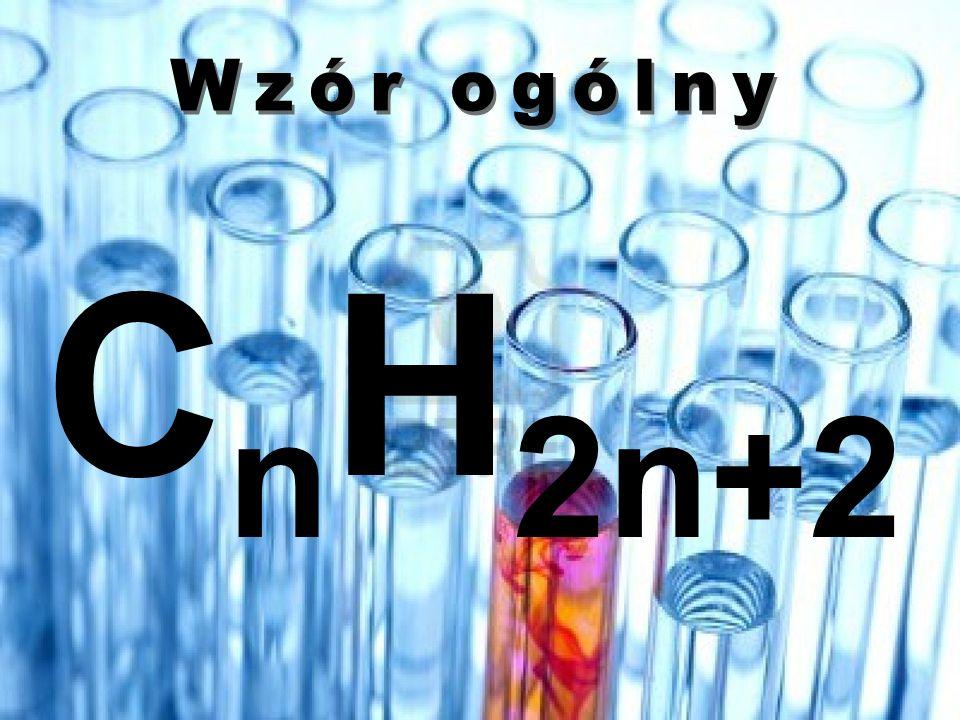 Wzór ogólny CnH2n+2