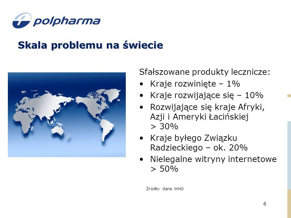 Skala problemu na świecie