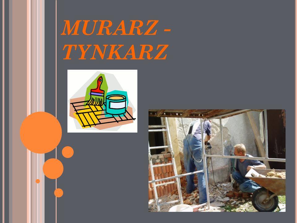 MURARZ - TYNKARZ