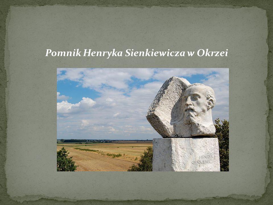 Pomnik Henryka Sienkiewicza w Okrzei