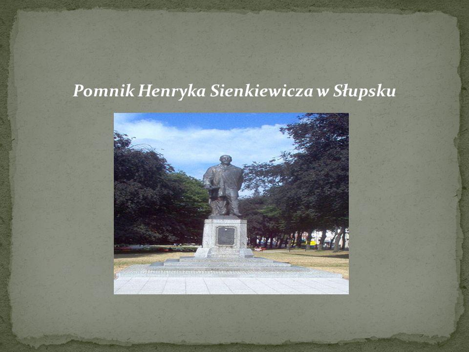 Pomnik Henryka Sienkiewicza w Słupsku
