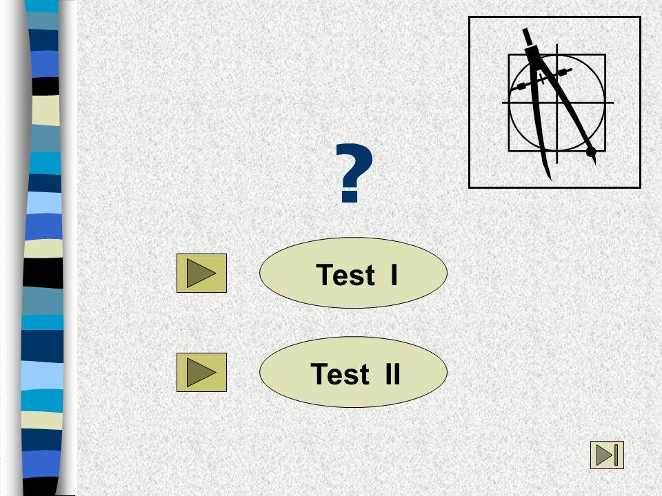 Test I Test II