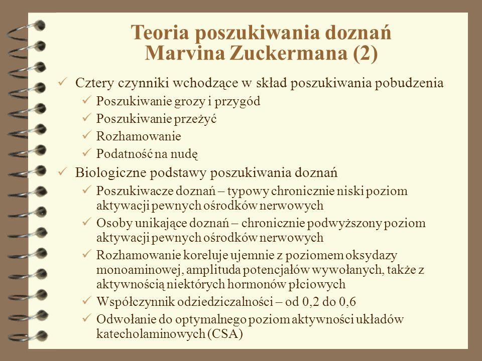 Teoria poszukiwania doznań Marvina Zuckermana (2)